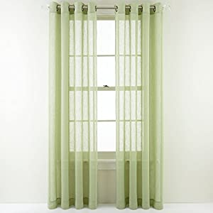 Amazon com martha stewart marthawindow promenade grommet top curtain