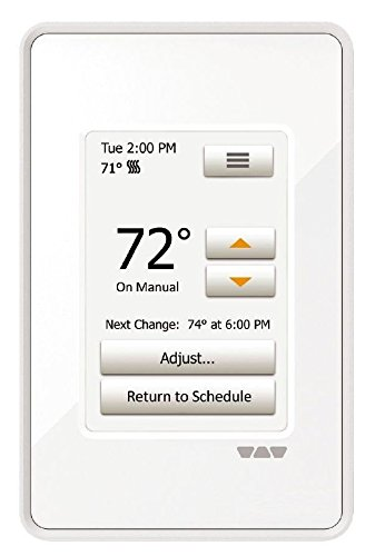 Ditra Heat Touchscreen Programmable Floor Heating Thermostat 120v/240v DITRA-HEAT-E-RT (New Heat Thermostat compare prices)
