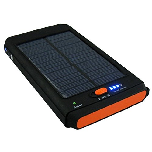11200mah Portable Solar Power Battery Charger with Photo