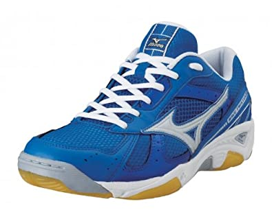 MIZUNO Wave Twister 2 Men's Indoor Court Shoes, Blue/White, UK14