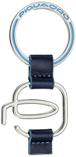Piquadro PC2847B2 Portachiavi, Collezione Blu Square, Blu