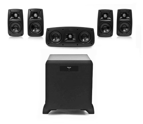 Klipsch Quintet 5.1 Home Theater Speaker System With Sw-350 Subwoofer
