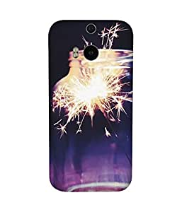 Firecracker HTC One M8 Case