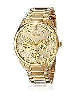 ESPRIT Reloj de cuarzo Woman ES106262009 Dorado