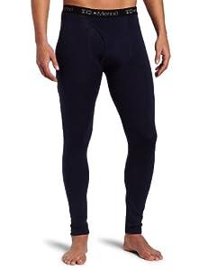 I/O Merino Men's Contact Tight Long Underwear, Navy, Small