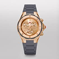 Michele Tahitian Jelly Bean Large, Rose Gold Tone Grey Mww12f000045