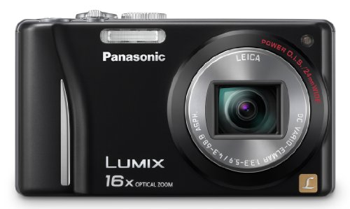 Black Friday Panasonic DMC-ZS9 14.1MP  Digital Camera with 16x Optical Zoom and 21x Intelligent Zoom Function (Black) Deals