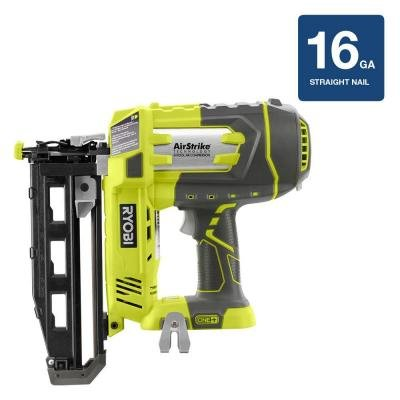 Sale!! 18-Volt ONE+ AirStrike 16GA Cordless Straight Finish Nailer (Tool Only)