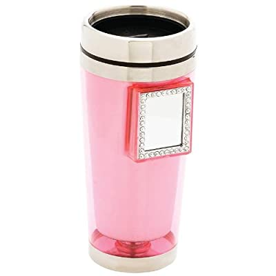 Maxam 16oz Stainless Steel Lined Mug With Mirror