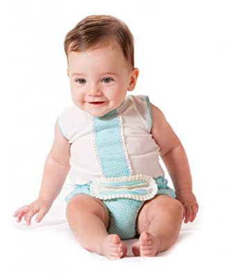 Amazon.com: Alves Baby-Boys' Outfit 3 Months Turquoise/Beige: Infant