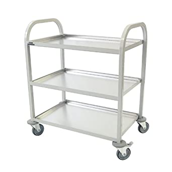 Craven CE981 Enamelled Clearing Trolley