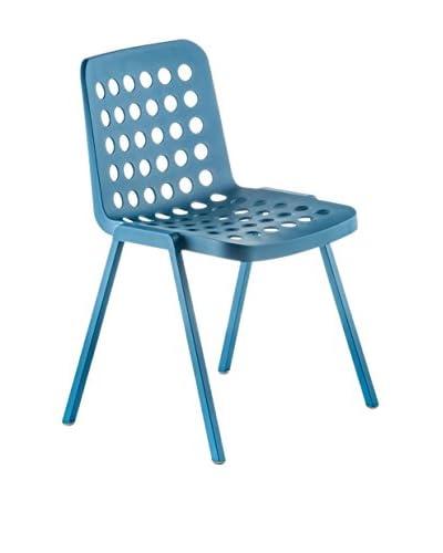 PEDRALI Chair Set van 2 Koi booki 370 blue