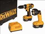 41OkI8Zy5%2BL. SL160  Dewalt 18v Hi Spec Combi Drill DC727KB+Torch Reviews