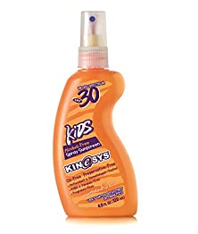 buy Kinesys Spf 30 Kids Sunscreen Spray Alcohol-Free, Fragrance-Free, 4 Ounce