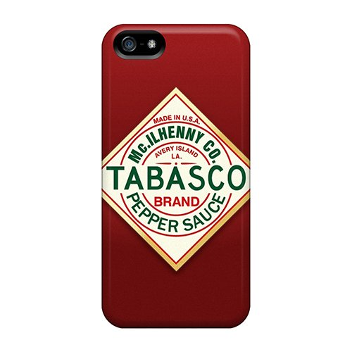 Anti-Scratch Cell-phone Hard Covers For Apple Iphone 5/5s (HIy8649NBBT) Unique Design Beautiful Tabasco Sauce Pattern (Sauce Beautiful compare prices)