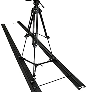 Varizoom SOLO SLIDER DOLLY KIT Track Dolly with Tripod (Black)