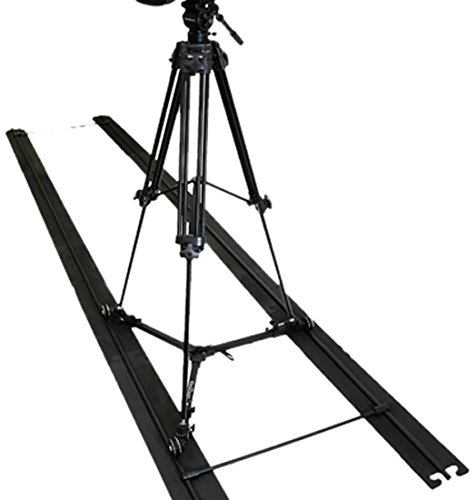 Varizoom-SOLO-SLIDER-DOLLY-KIT-Track-Dolly-with-Tripod-Black