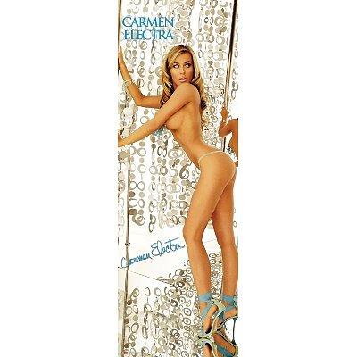 (21x59) Carmen Electra Stripper Pole Naked Art Print Poster Door Poster Print, 21x62