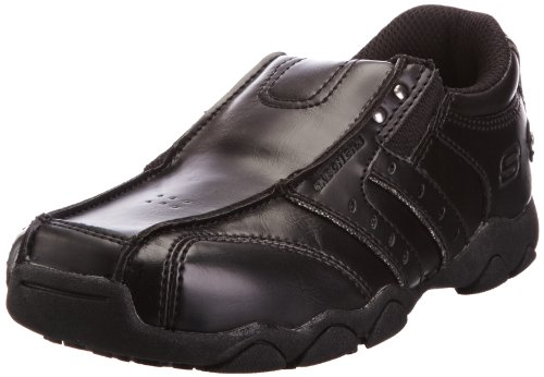 Skechers Diameter Cole Black Casual Loafer Shoe 91615l 5 UK Youth