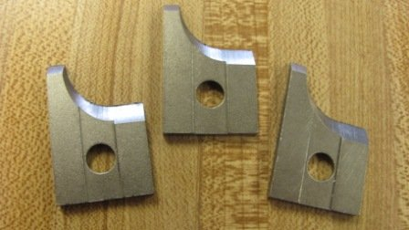 """Corob Molding Knife: #33 1/2"""" Radius Base Shoe"""