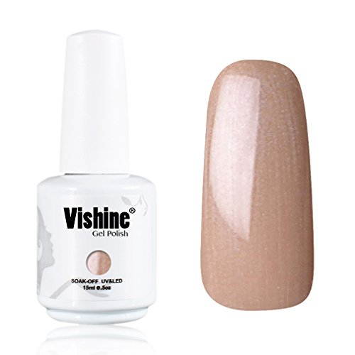 Vishine-Gelpolish-Professional-UV-LED-Soak-Off-Varnish-Color-Gel-Nail-Polish-Manicure-Salon-Light-Brown1435