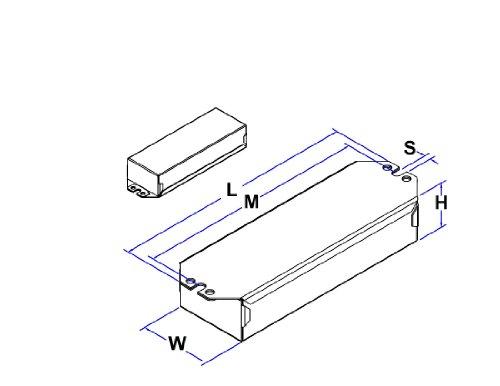 Robertson 3M10354 S206 /A Mballast, Npf, 120Vac., 60Hz, (2) F6T5 V2