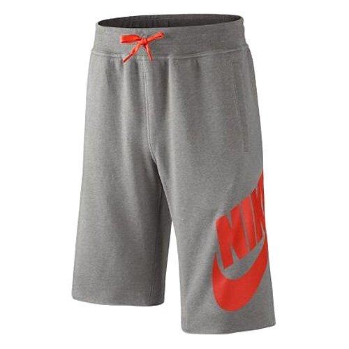 Nike-Pantaloncini in tessuto French Terry Alumni, taglia M, colore: grigio