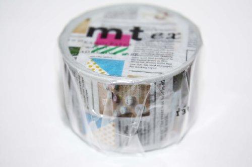 mt exマスキングテープ 1P【英字新聞】 MTEX1P75