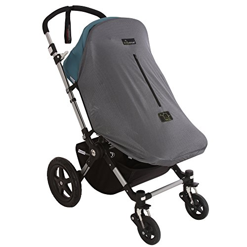 Snoozeshade Original Deluxe Sunshade and Baby Sleep Aid for Single Strollers/Joggers/Prams