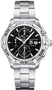Tag Heuer Aquaracer Automatic Black Dial Chronograph Mens Watch CAP2110.BA0833