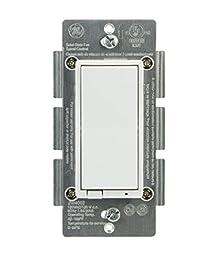 GE Z-Wave Smart Fan Control, In-Wall, 12730