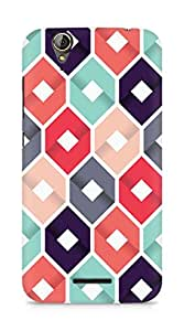 Amez designer printed 3d premium high quality back case cover for Acer Z630S (Pattern 1)