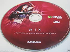 Zumba Fitness Mix DVD from Exhilarate DVDs set