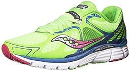 Saucony Women\'s Kinvara 6 Road Running Shoe, Blue/Polyurethane, 9 M US