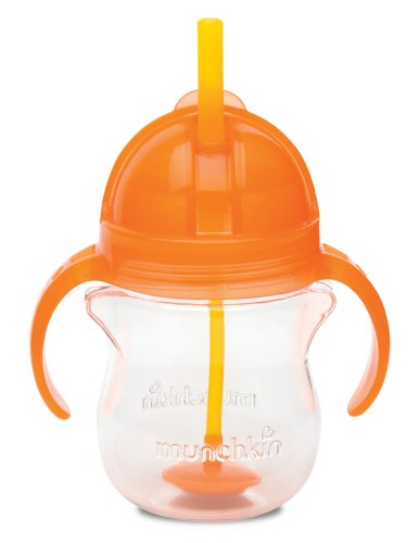 munchkin-click-lock-weighted-flexi-straw-trainer-cup-orange-7-ounce
