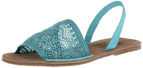 Skechers Women'S Bobs La Playa Ivy Espadrille Sandal,Turquoise,6 M Us front-822173