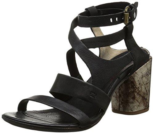 AirstepSou 519002 - Sandali alla caviglia Donna , Nero (Noir (Nero)), 40