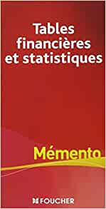 Tables financi res et statistiques michelle for Table financiere