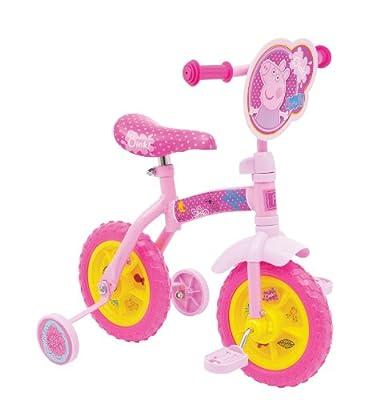 Peppa Pig 10-inch 2-in-1 Training Bike