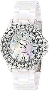 XOXO Women's XO2009 Swarovski Crystal-Accented Watch