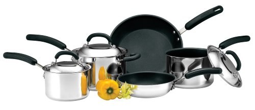 Circulon 5-Piece Steel Cookware Set