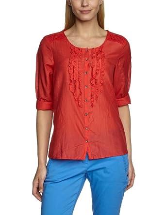 LERROS Damen Bluse 3312050, Gr. 38 (M), Rot (POPPY RED 326)