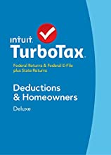 TurboTax Deluxe 2014 Fed + State + Fed Efile Tax Software + Refund Bonus Offer - Win