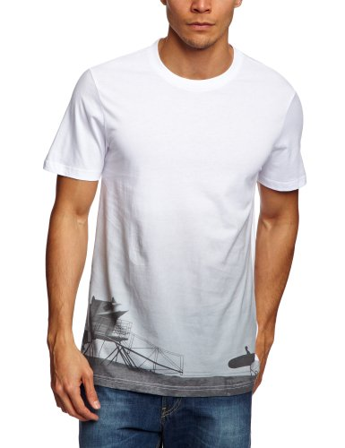 Etnies Silhoutte Shortsleeve Printed Men's T-Shirt White X-Large