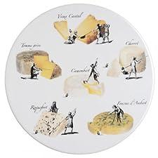 La chaise longue 31-K2-047 - Bandeja de porcelana para queso