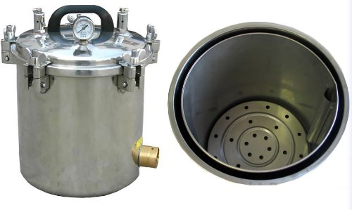 12l liter portable autoclave steam sterilizer for medical for Cheap autoclaves tattooing