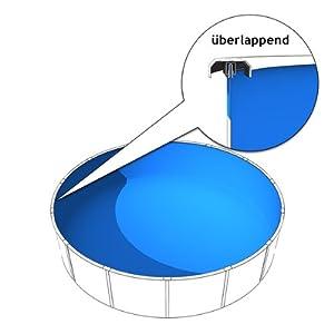 Pool innenfolie f r runde pools durchmesser 350 360 cm x for Pool innenfolie