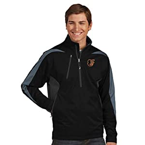 Baltimore Orioles Discover 1 4 Zip Pullover by Antigua