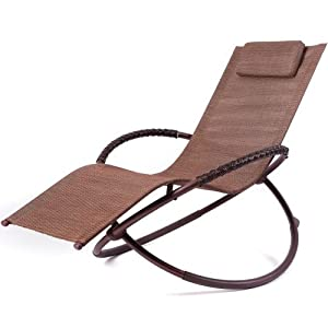RST Outdoor Delano Orbital Zero Gravity Lounger Patio Furniture (Discontinued by Manufacturer)