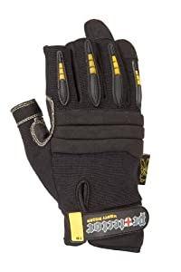 Dirty Rigger Kevlar Protector Framer Work Glove L Black